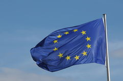 Flag of European Union Stock Photo