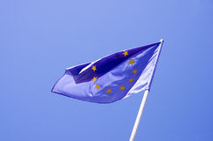 Flag of European union Royalty Free Stock Photo
