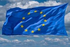 Flag of European Union Stock Image