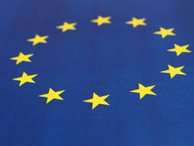 Flag of the European Union EU Stock Photo