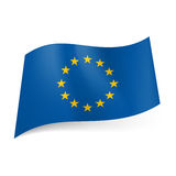 Flag of European Union. Stock Photography