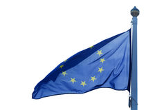 A flag of European Union Stock Image
