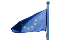 A flag of European Union Royalty Free Stock Photos