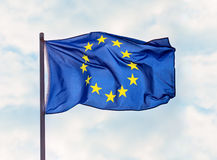 Flag of European Union Royalty Free Stock Photos
