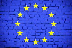 Flag of European Union Royalty Free Stock Image