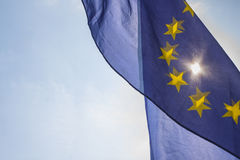 Flag of European Union Stock Image