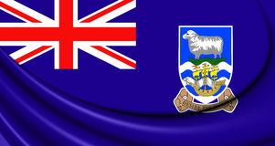 Flag of Falkland Islands Royalty Free Stock Image