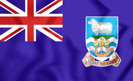 Flag of Falkland Islands Stock Photography