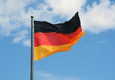 Flag of the Federal Republic of Germany Royalty Free Stock Image