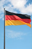 Flag of the Federal Republic of Germany Stock Photo