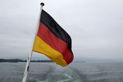 Flag of the Federal Republic of Germany Royalty Free Stock Images