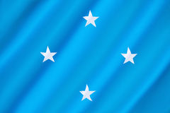 Flag of the Federated States of Micronesia Royalty Free Stock Photography