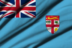 Flag of Fiji Royalty Free Stock Photography