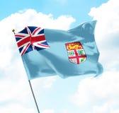 Flag of Fiji Royalty Free Stock Photography