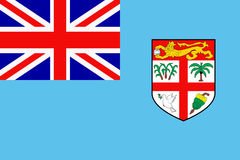 Flag of Fiji Royalty Free Stock Images