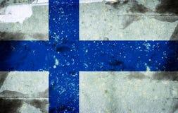 Flag of Finland. Computer designed highly detailed grunge illustration - Flag of Finland Stock Images