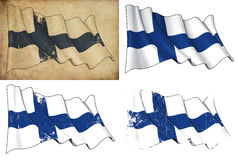 Flag of Finland Stock Image