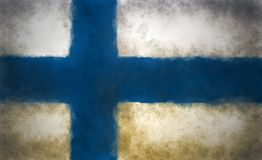 Flag of finland. Abstract background illustration - flag finland Royalty Free Stock Photos