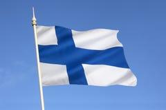 Flag of Finland - Scandinavia - Europe Royalty Free Stock Photo
