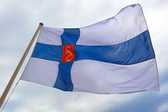 Flag of Finland. Stock Image