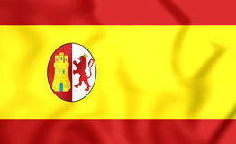 Flag of First Spanish Republic Royalty Free Stock Image
