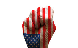 flag fist Royalty Free Stock Photography