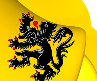 Flag of Flanders Royalty Free Stock Photography
