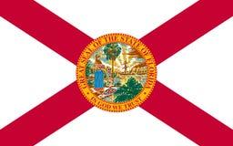 Flag of Florida, USA stock photos