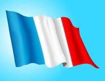 Flag - France 1 Royalty Free Stock Photography