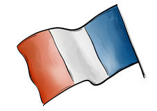 Flag france Royalty Free Stock Photos