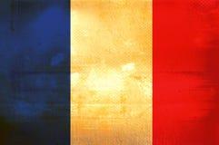Flag of france. Grunge background edit Stock Photos