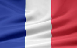 Flag of France. Very large version of a french flag Stock Photos