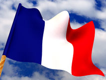 Flag. France Royalty Free Stock Photos