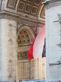 The Flag of France stock image