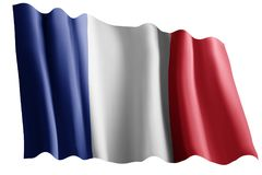 Flag of france Royalty Free Stock Photo