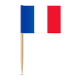 Flag of France. Flag toothpick Royalty Free Stock Photography