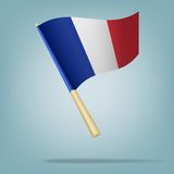 Flag of France. vector illustration Royalty Free Stock Photo