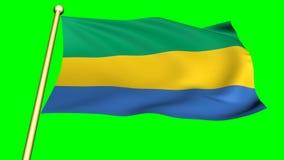 Flag of Gabon, Africa