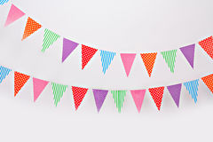 Flag garland Royalty Free Stock Photography