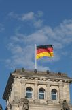 Flag of German Royalty Free Stock Photos