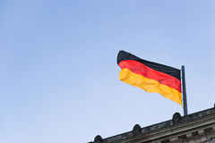 Flag of Germany 01 Royalty Free Stock Photography