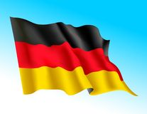 Flag - Germany 1 Royalty Free Stock Images
