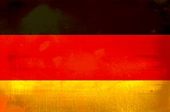 Flag of Germany Stock Photography
