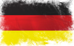 Flag of germany Royalty Free Stock Photography