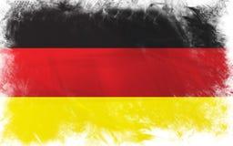 Flag of germany. Grunge background edit Royalty Free Stock Photography