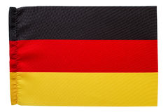 Flag of Germany black red golden yellow Stock Images