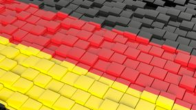 Flag of Germany Stock Images