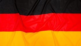 German Flag of Germany. Flag of Germany, German background Royalty Free Stock Photos