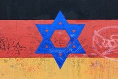 Berlin Wall, East Side Gallery, Germany stock photography
