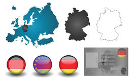 Flag germany Stock Image